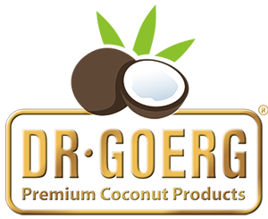 Logotipo Dr. Goerg. Premium Coconut Products
